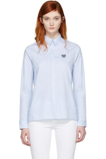 Kenzo - Blue Tiger Shirt