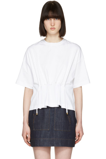 Kenzo - White Drawstring T-Shirt