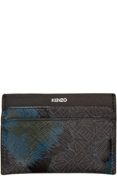 Kenzo - Black Leopard Card Holder