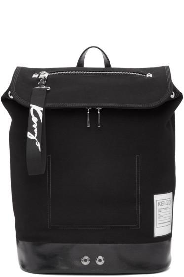 Kenzo - Black Kanvas Backpack