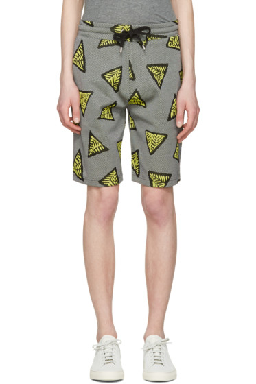 Kenzo - Yellow Bermudas Tech Lounge Shorts