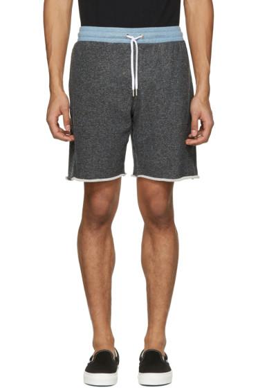 Maison Kitsuné - Black Jogg Shorts