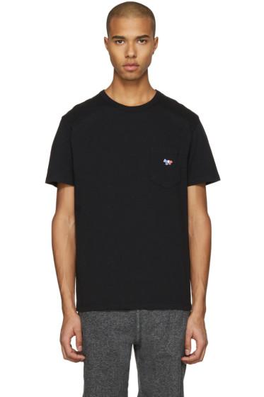 Maison Kitsuné - Black Fox Patch T-Shirt