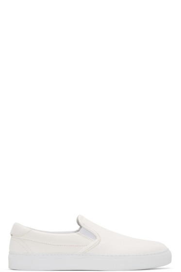 Diemme - White Garda Slip-On Sneakers