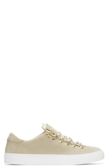 Diemme - Beige Suede Marostica Low Sneakers