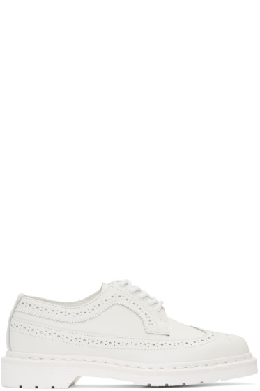 Dr. Martens - White 3989 Brogues