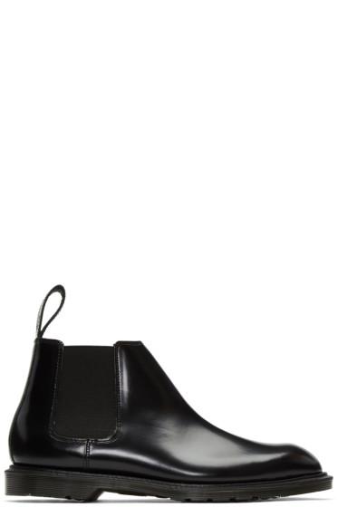 Dr. Martens - ブラック ワイルド ロー ブーツ