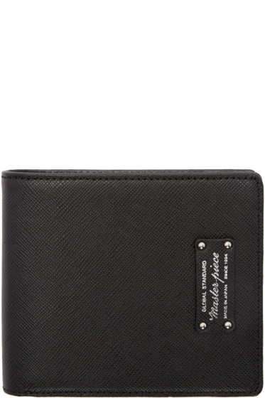 Master-Piece Co - Black Bifold Wallet
