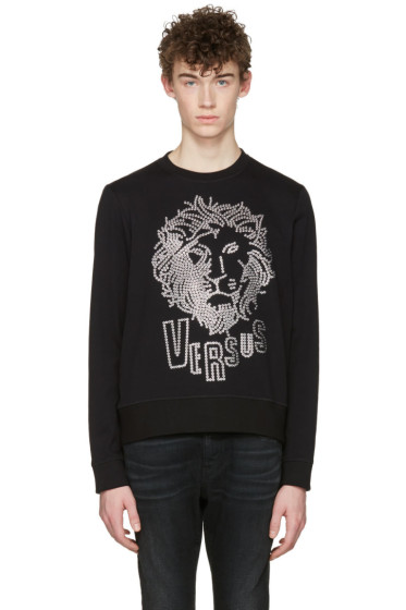 Versus - Black Lion Head Pullover