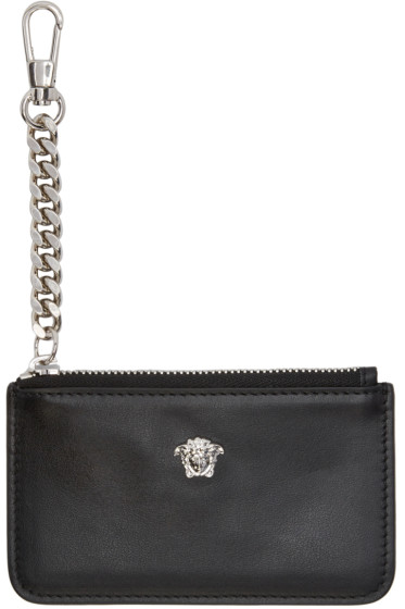 Versace - Black Small Medusa Coin Pouch