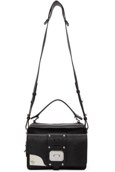 Versace - Black Medium Stardust Satchel