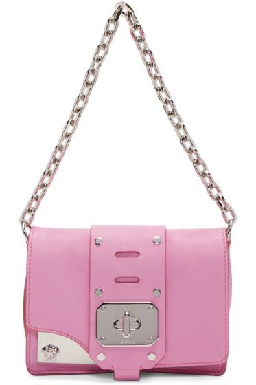 Versace - ピンク ミニ スターダスト サッチェル