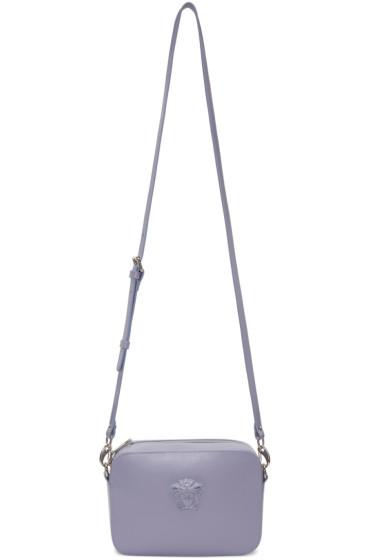 Versace - Purple Medusa Camera Bag