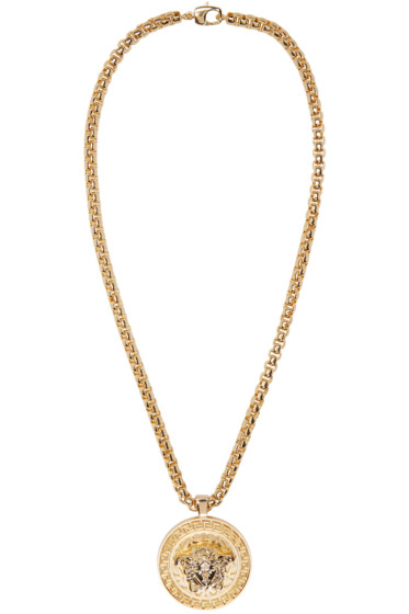 Versace - Gold Medusa Chain Necklace