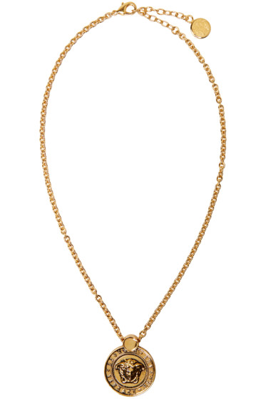 Versace - Gold Medusa Necklace