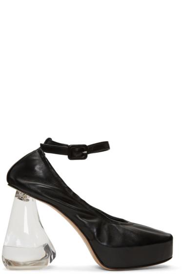 Simone Rocha - Black Perspex Tooth Heels