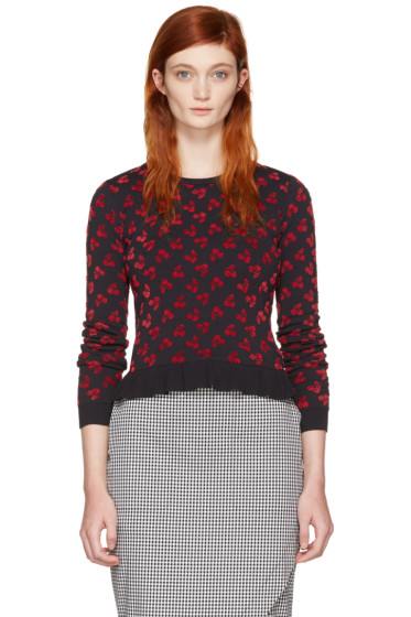 Altuzarra - Black Clifton Cherry Sweater