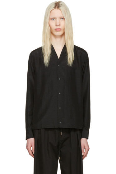 Sasquatchfabrix - Black Wa-Neck Shirt