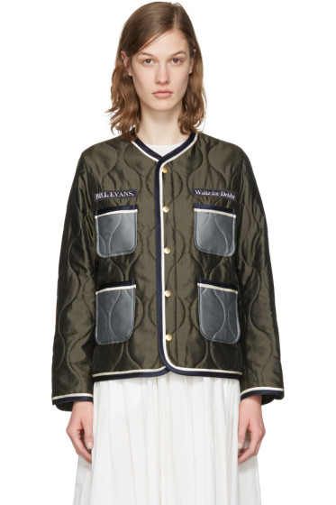 Undercover - Khaki Quilted Pockets Jacket