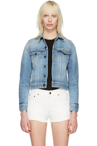 Saint Laurent - Blue Denim 'Love' Jacket