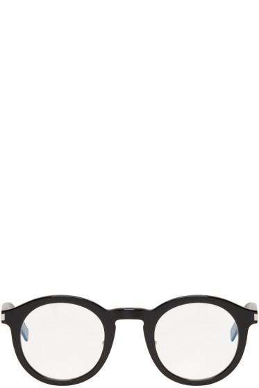 Saint Laurent - Black SL 140 Slim Glasses