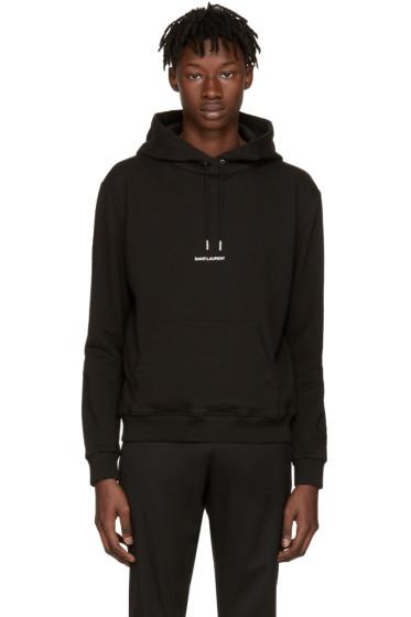 Saint Laurent - Black 'Saint Laurent' Hoodie