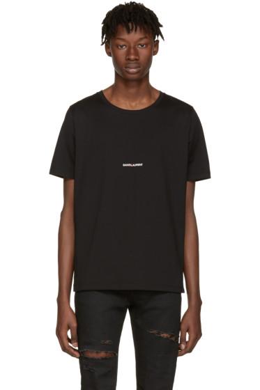 Saint Laurent - Black 'Saint Laurent' T-Shirt
