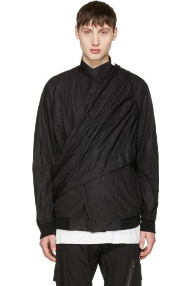 Julius - Black Wrap Jacket