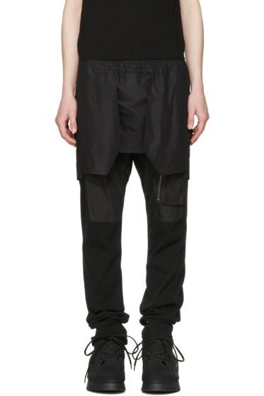 Julius - Black Layered Trousers