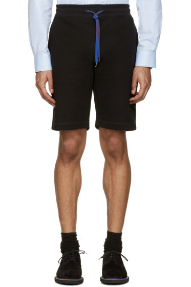 PS by Paul Smith - Black Contrast Drawstring Shorts