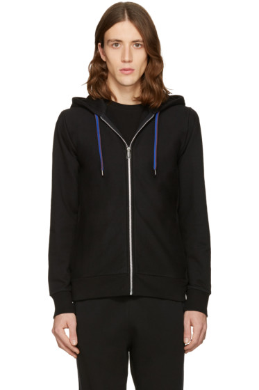 PS by Paul Smith - Black Cotton Hoodie