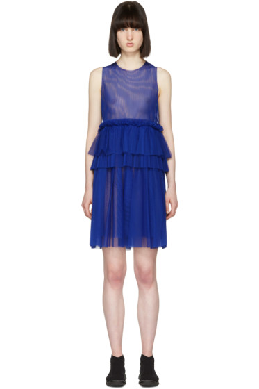 MSGM - Blue Tulle Dress