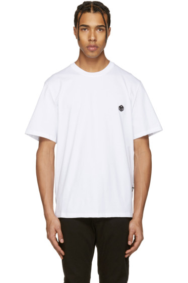 MSGM - White Dice Patch T-Shirt