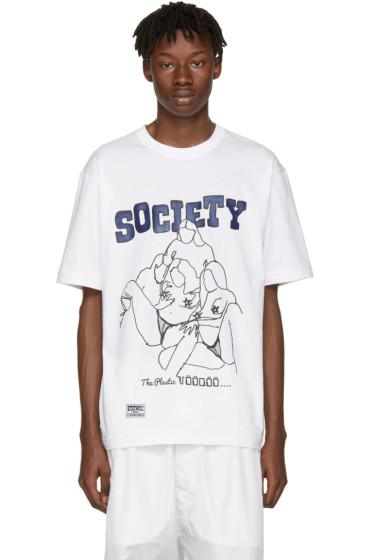 KTZ - White 'Society' T-Shirt