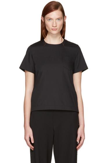 Sacai - Black Classic Shirting Pleated Shirt