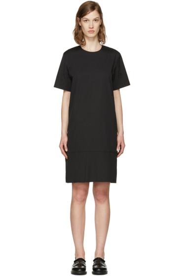 6397 - ブラック コントラスト シフト ドレス