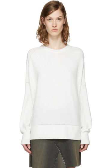 6397 - White Beach Terry Pullover