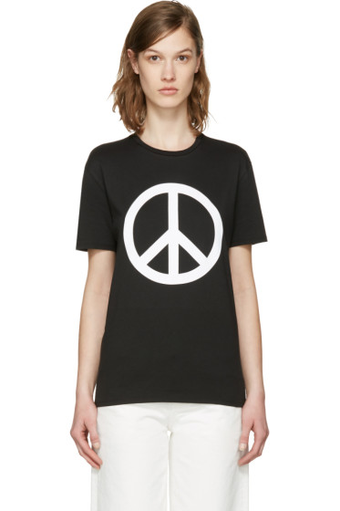 6397 - SSENSE Exclusive Black 'Peace NY' T-Shirt