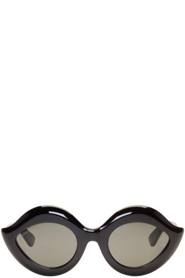 Gucci - Black Cat Eye Sunglasses