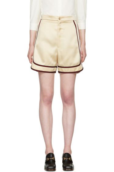 Gucci - Beige Bermuda Shorts