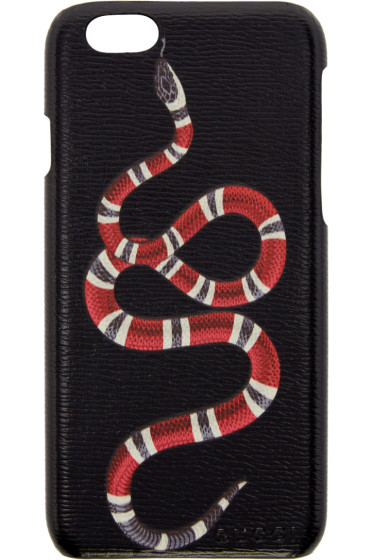 Gucci - ブラック スネーク iPhone 6 ケース