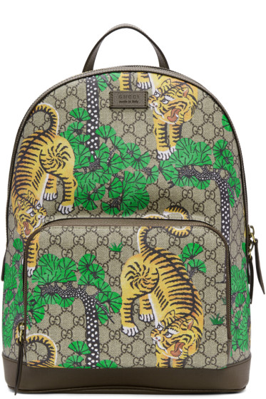 Gucci - Multicolor GG Supreme Bengal Backpack