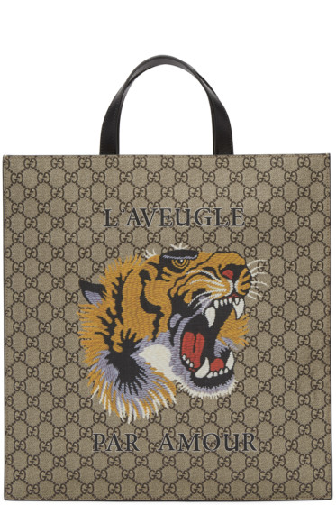 Gucci - マルチカラー GG スプリーム  L'Aveugle Par Amour トート