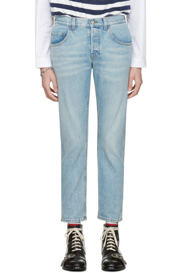 Gucci - Blue 'Loved' Jeans