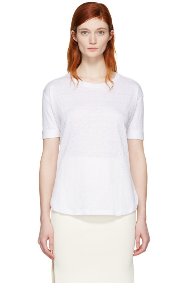 Frame Denim - ホワイト トゥルー T シャツ