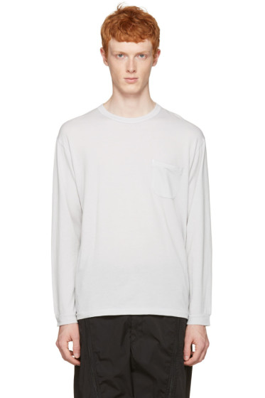 Nanamica - Grey Pocket T-Shirt