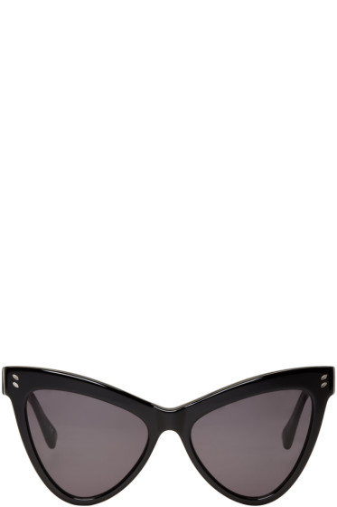 Stella McCartney - Black Cat Eye Sunglasses