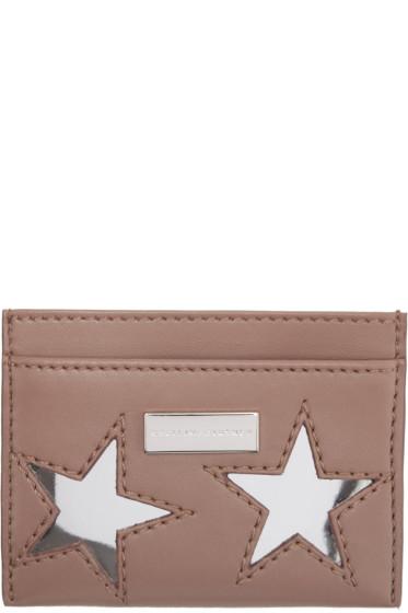 Stella McCartney - Pink Star Card Holder