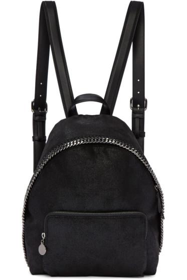 Stella McCartney - Black Small Falabella Backpack