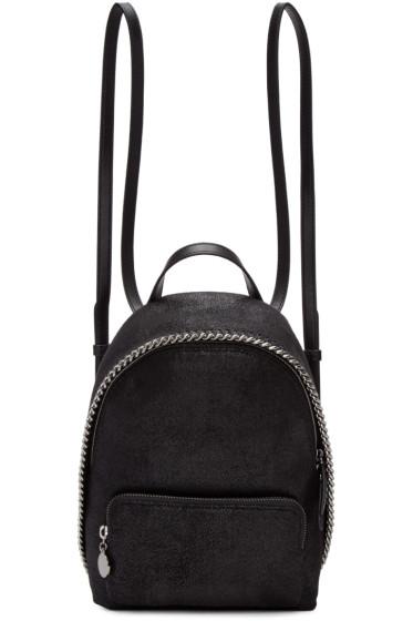 Stella McCartney - Black Mini Falabella Backpack